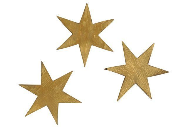Twinkle Star Set, Gold