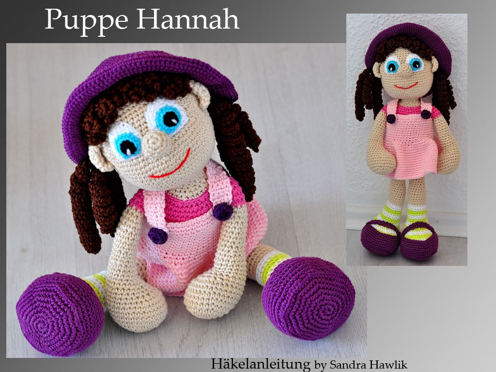 Häkelanleitung, DIY - Puppe Hannah - Ebook, PDF