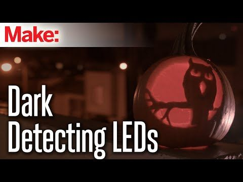 Dark-Detecting LED Throwies | Make: DIY Projects, How-Tos ...