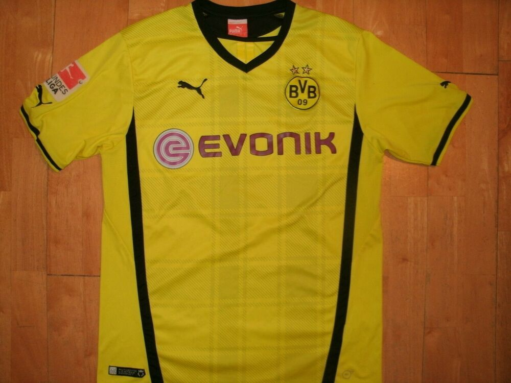 cheap for discount 46406 5b72b PUMA Men BORUSSIA DORTMUND BVB Soccer Futbol Large L Jersey ...