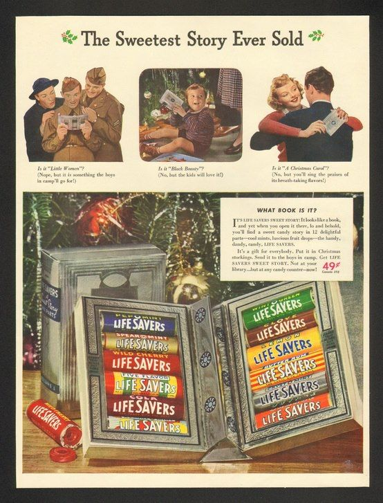 life savers book from 1960s this was the best christmas gift to receive during elementary school gift exchanges