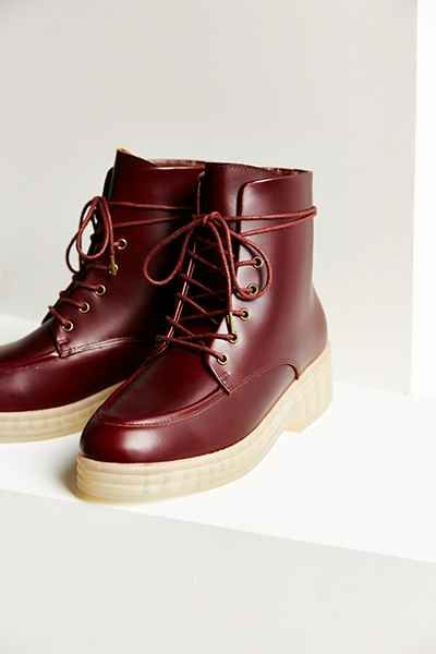 F-Troupe Lace-Up Boot