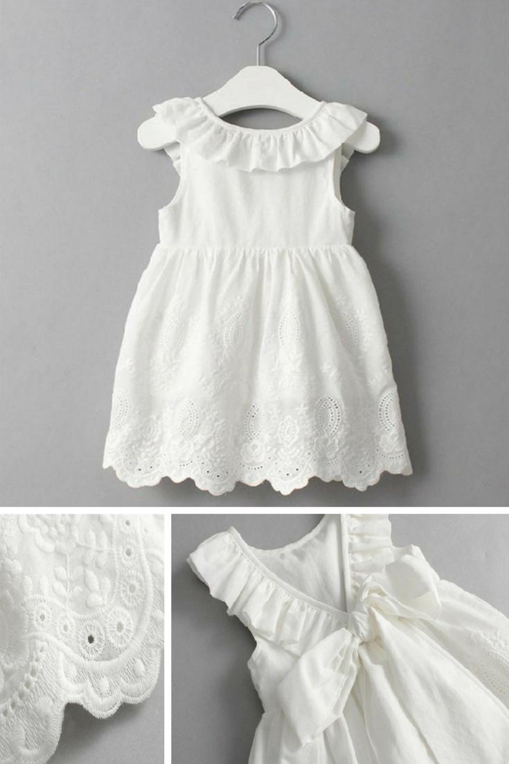 White Lace Dress For Toddler Girls Perfect For Special Occasions Toddlerfashion Toddlergirl Fash Vestidos Para Ninas Moda Para Ninas Vestidos Para Senoras [ 1102 x 735 Pixel ]