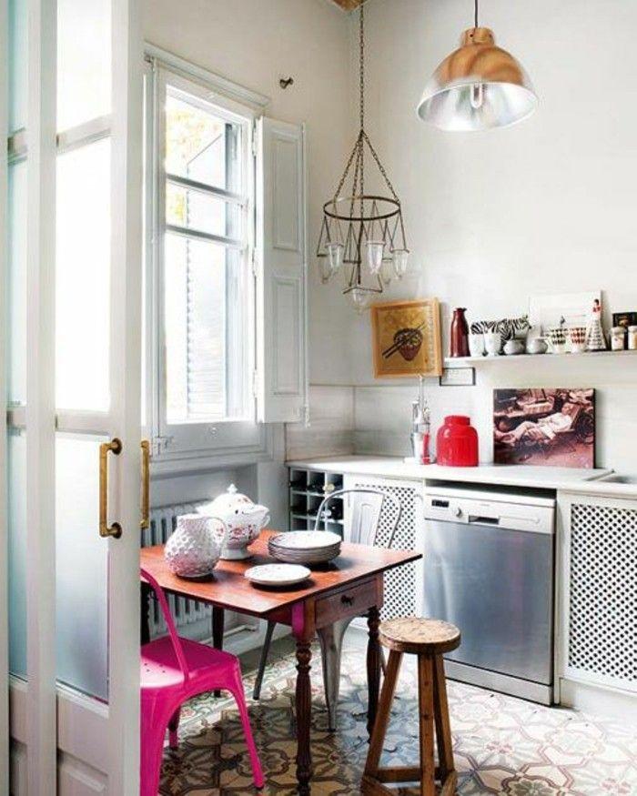 Comment décorer avec le carrelage ancien - 62 photos pour décider - Archzine.fr | Petite salle à ...