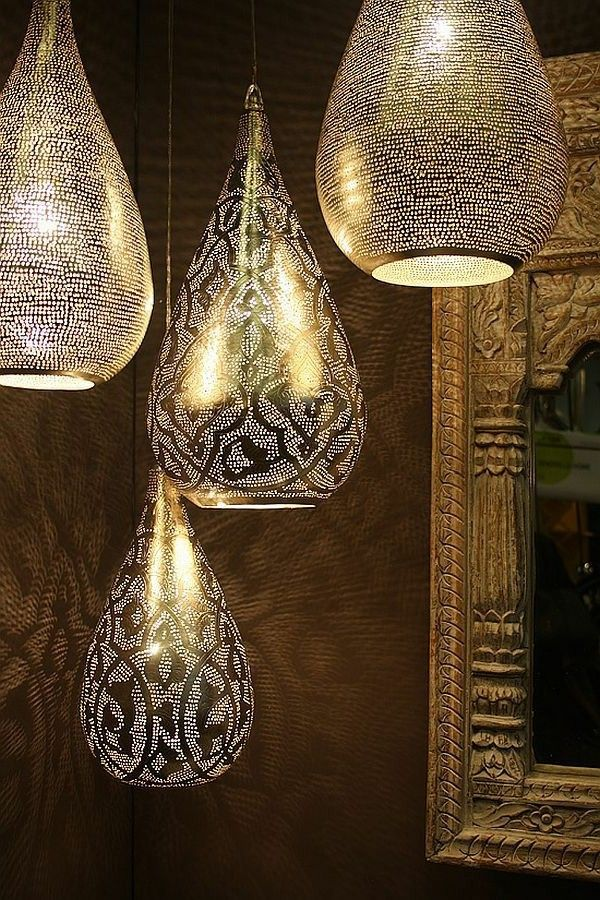 Lampes marocaines: 38 modèles super! | Lampe marocaine, Déco