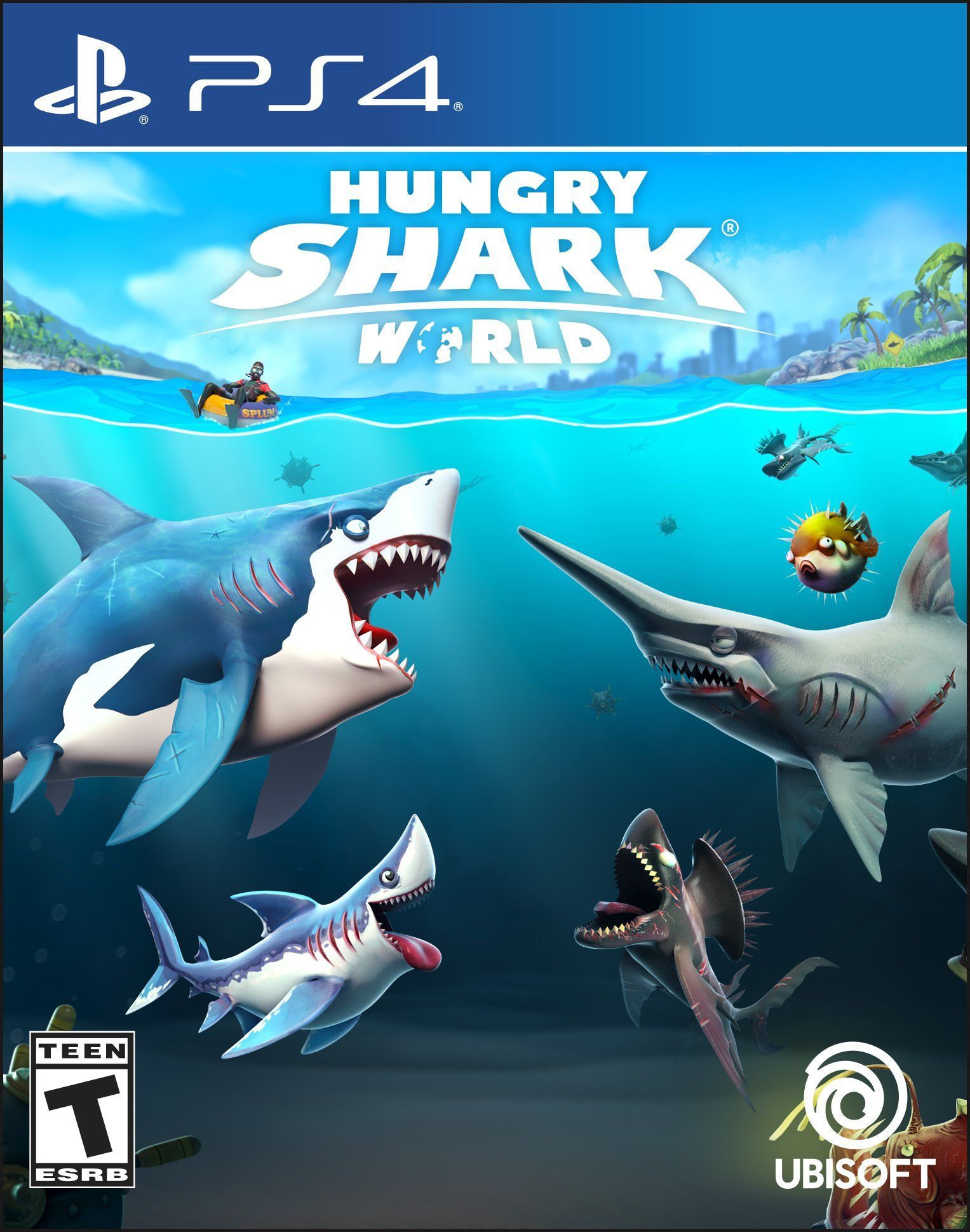 Hungry Shark World PS4 [Digital Code] ** Click photo for