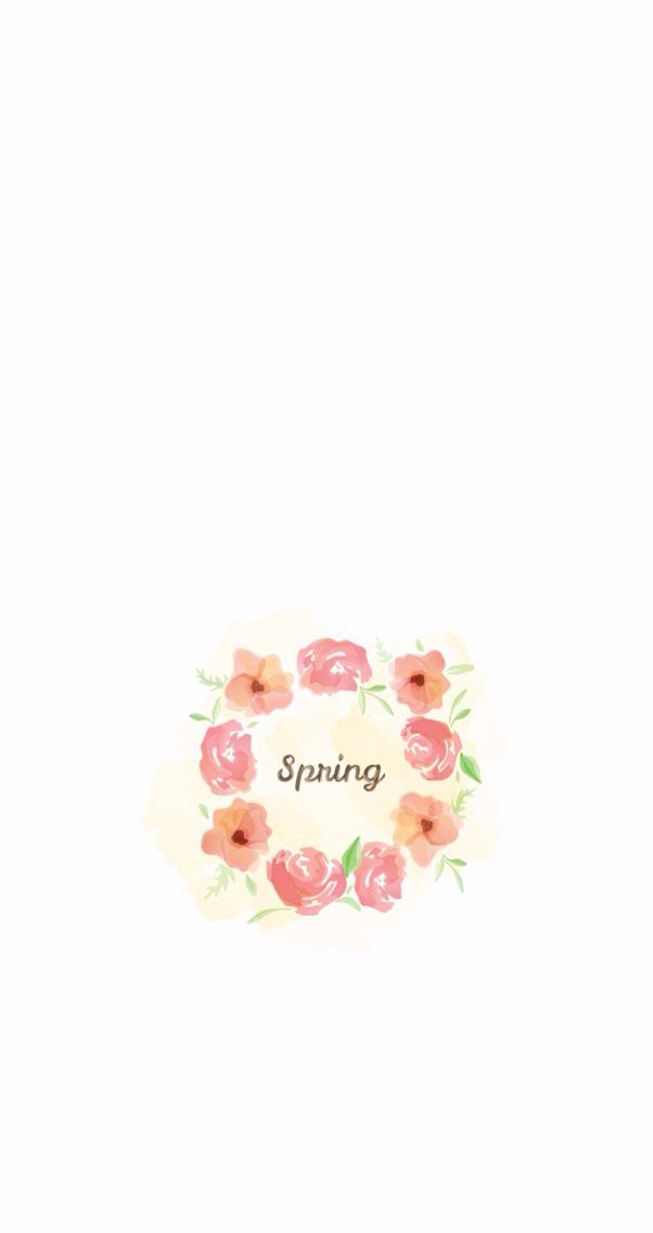 Cute Floral Spring Iphone Wallpapers And Backgrounds Spring Wallpaper Flower Background Wallpaper Flower Background Iphone