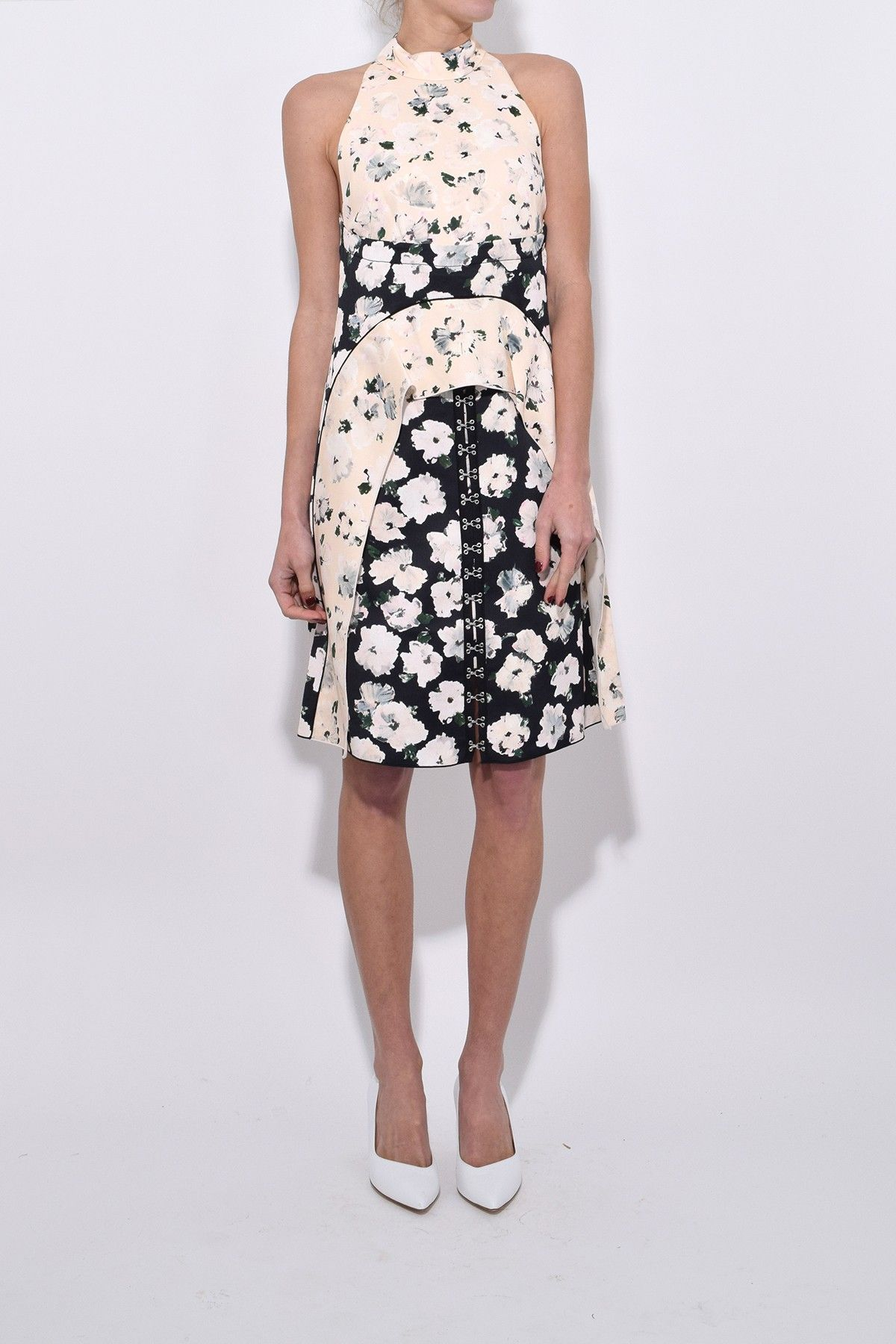 Short Waisted Dress - White Proenza Schouler wr72fcoJ