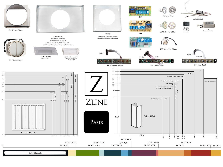 Baffle Parts Poster 2018 Jpg Kitchen And Bath Kitchen Range Hood Rolled Arm Sofa