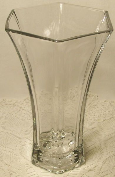 Hoosier Glass Clear Vase 4041 By Sunnysunshine33 On Etsy 1999
