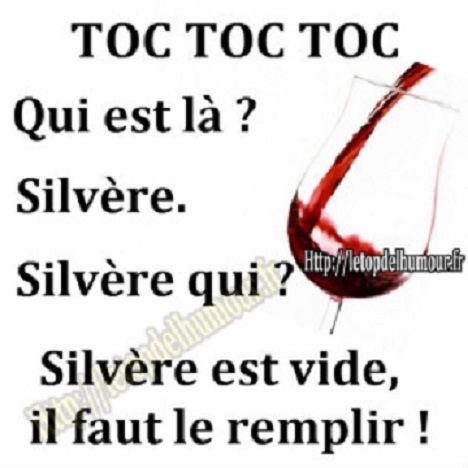 Si Le Verre Est Vide Il Faut Le Remplir Citation Vin Citation Alcool Humour Vin