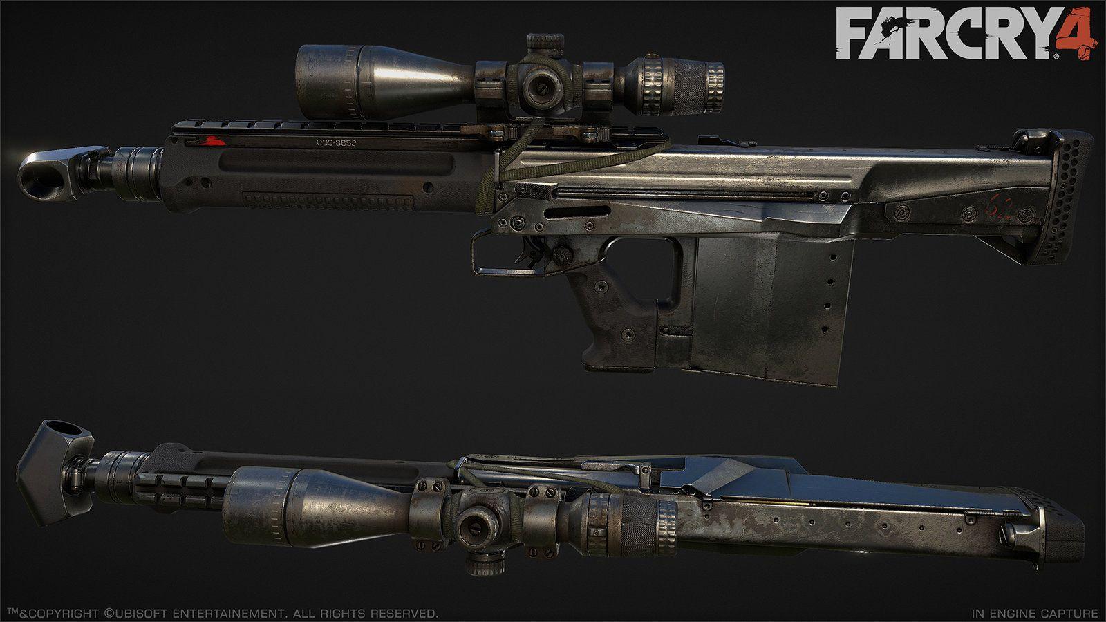 Far Cry 4 Sa50 Greg Rassam Guns Far Cry 4 Military Guns