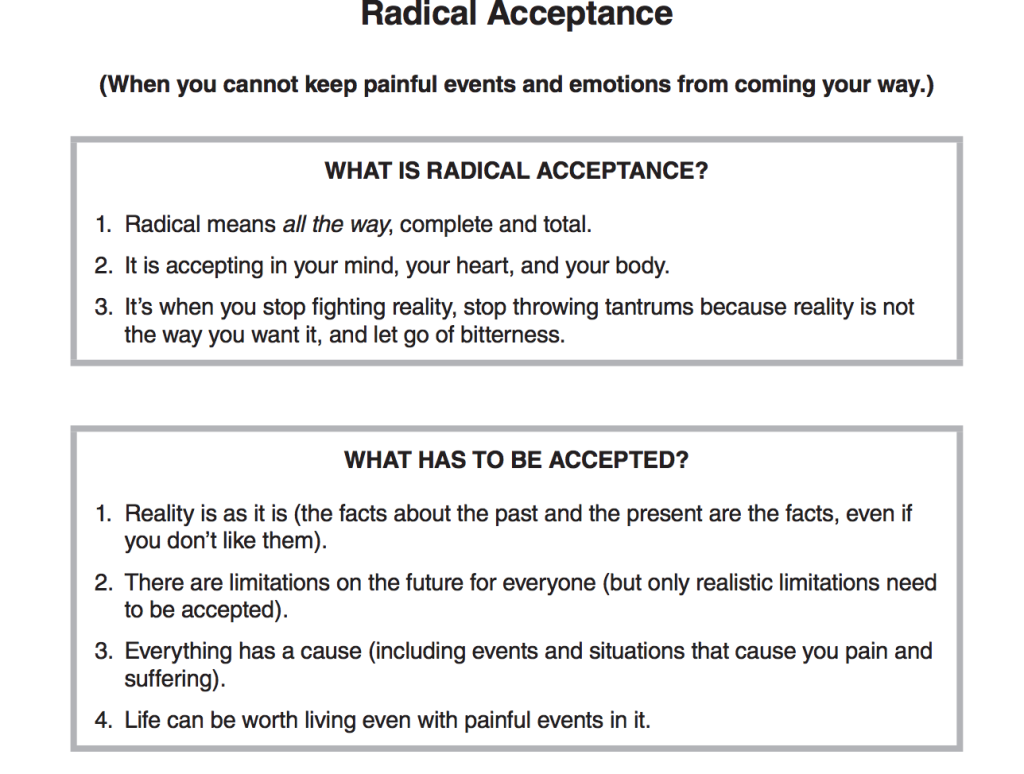 Radical Acceptance 10 Things To Do When Winter Gets You