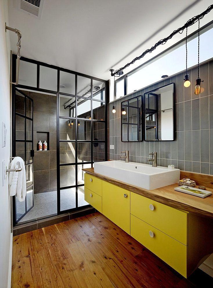 salle de bain style atelier