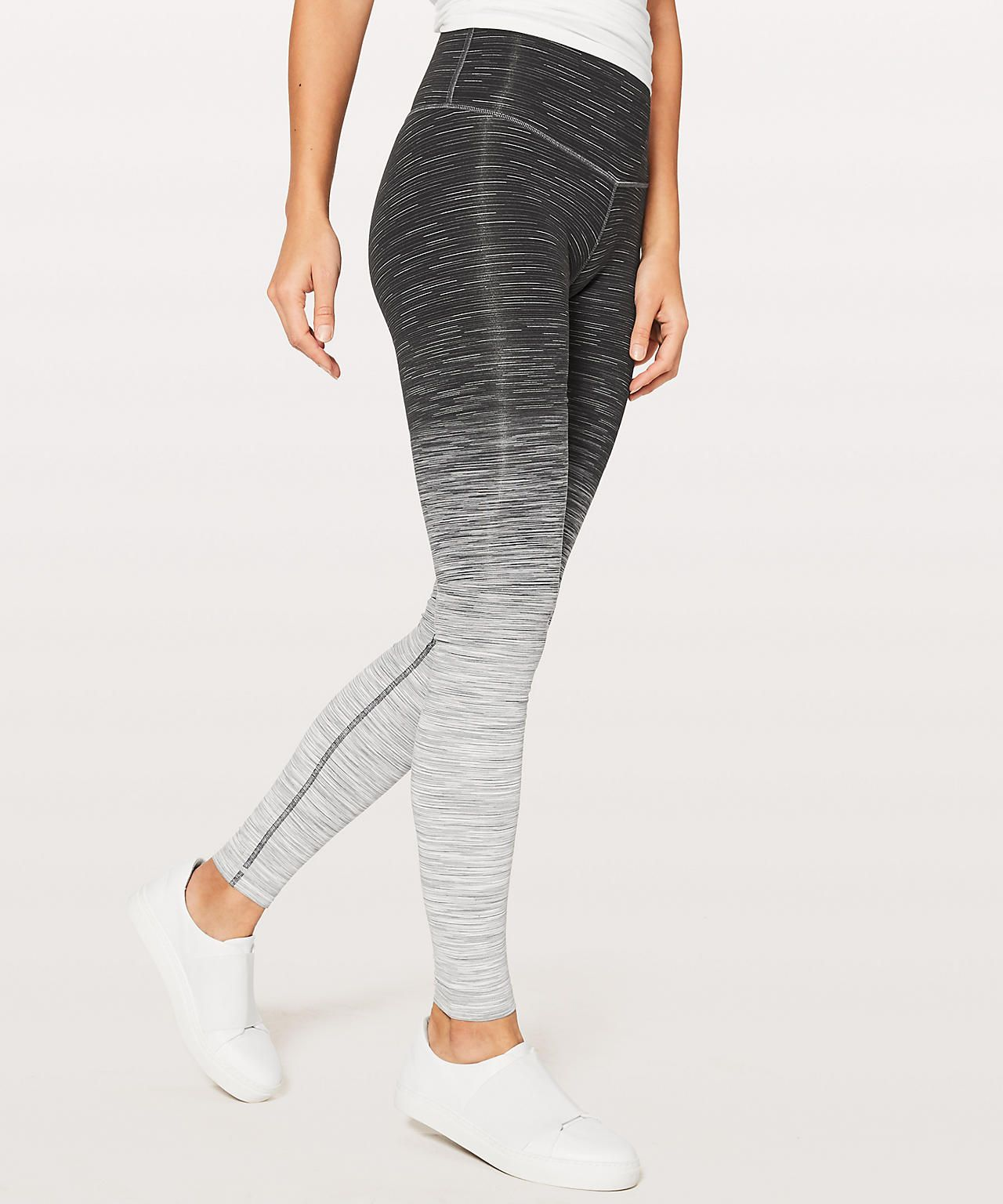 427583dc1c Wunder Under Hi-Rise Tight Ombré Melange $128 (full-on luon) Ombre Space  Dye Black Deep Coal