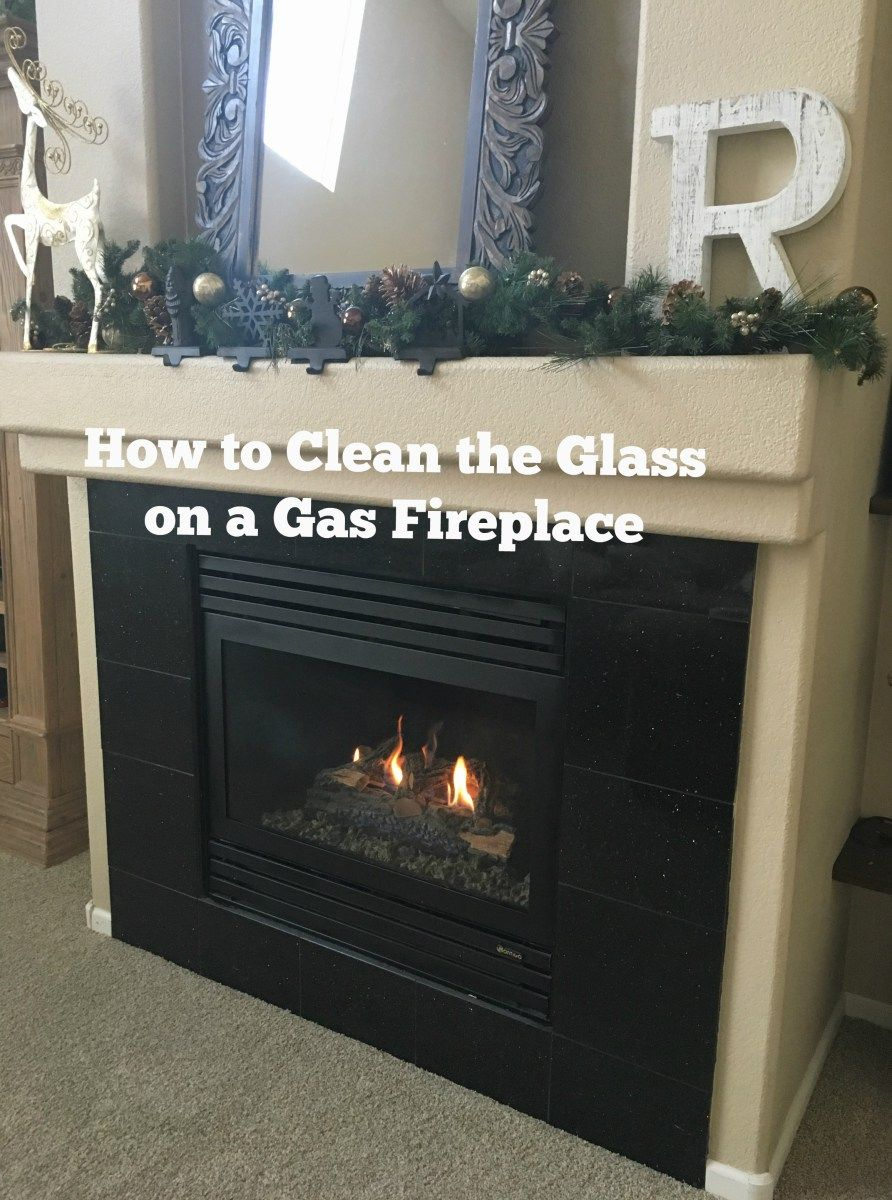 How To Clean The Glass On A Gas Fireplace Home Gas Fireplace