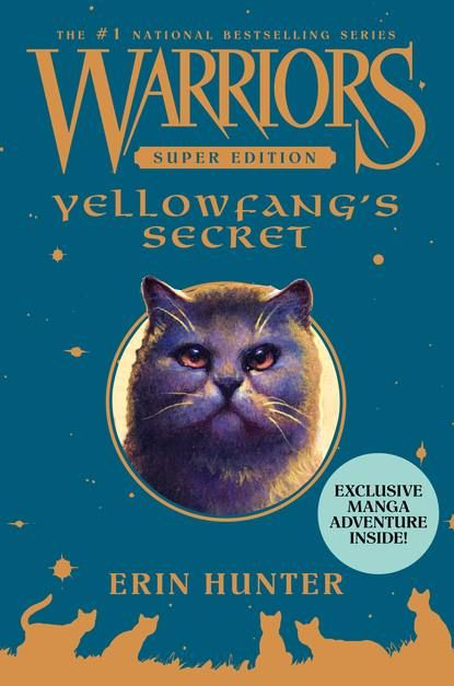 Yellowkit is a ShadowClan cat through and through and she can't wait to become a fearless warrior. Then Yellowkit trains as an apprentice and finally receives her warrior name, Yellowfang—and much to her surprise, she realizes that her paws weren't meant to shed blood. Her true destiny lies as a healer, and she takes her place as ShadowClan's medicine cat apprentice.