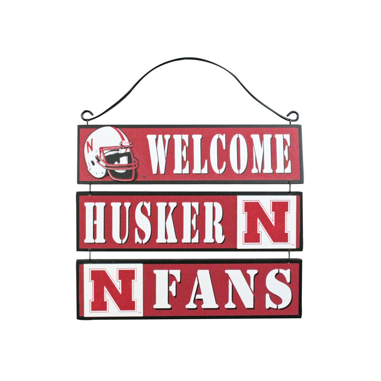 """""""Welcome Husker Fans"""" Sign"""