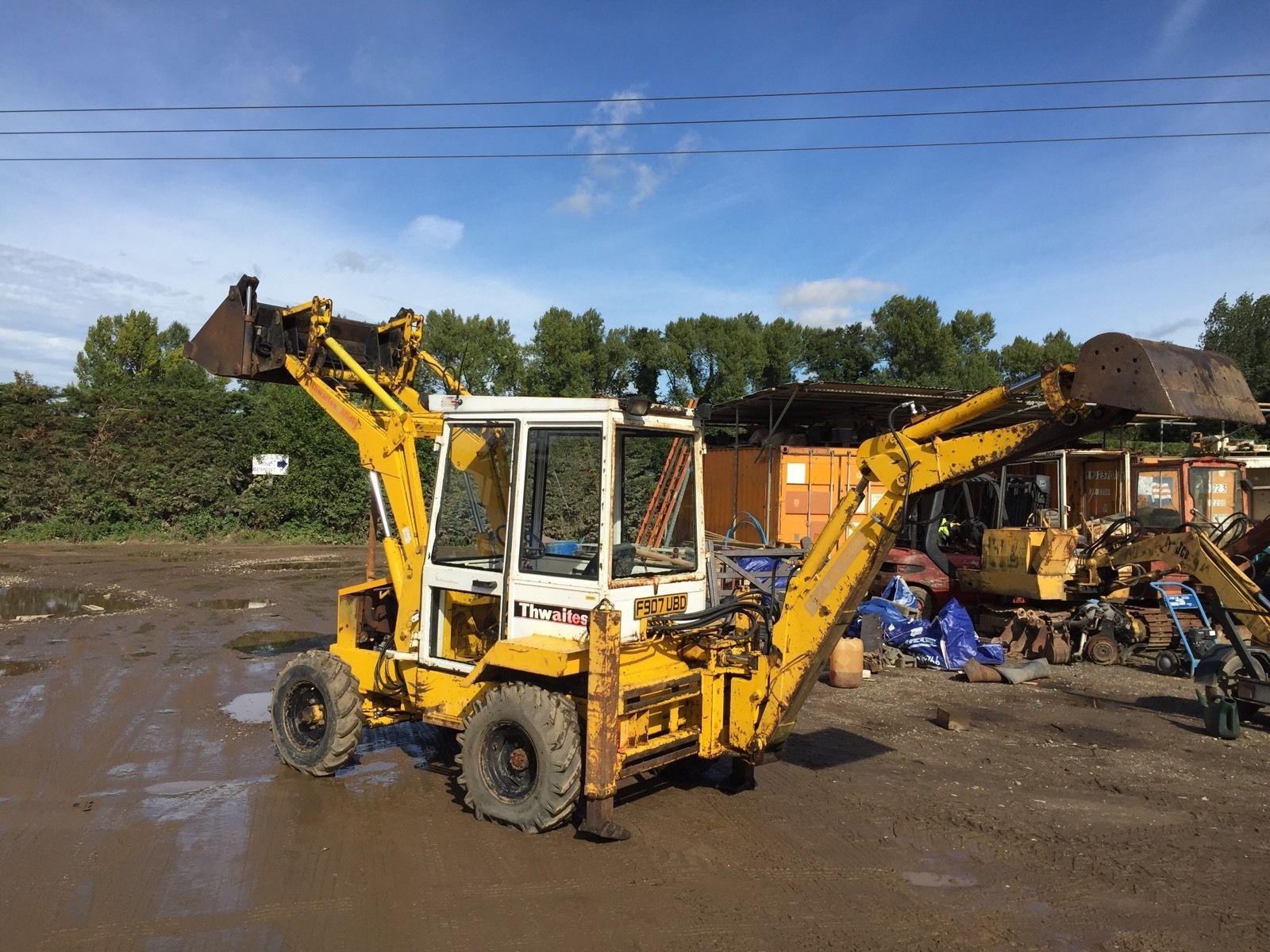 Thwaites Alldig Digger Backhoe Excavator Dumper Dig Kubota