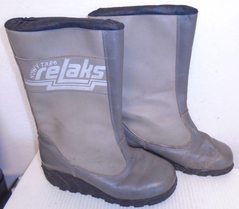 Buty Relaks Nowy Targ Kozaki Prl Relaksy 24cm Ugg Boots Boots Shoes