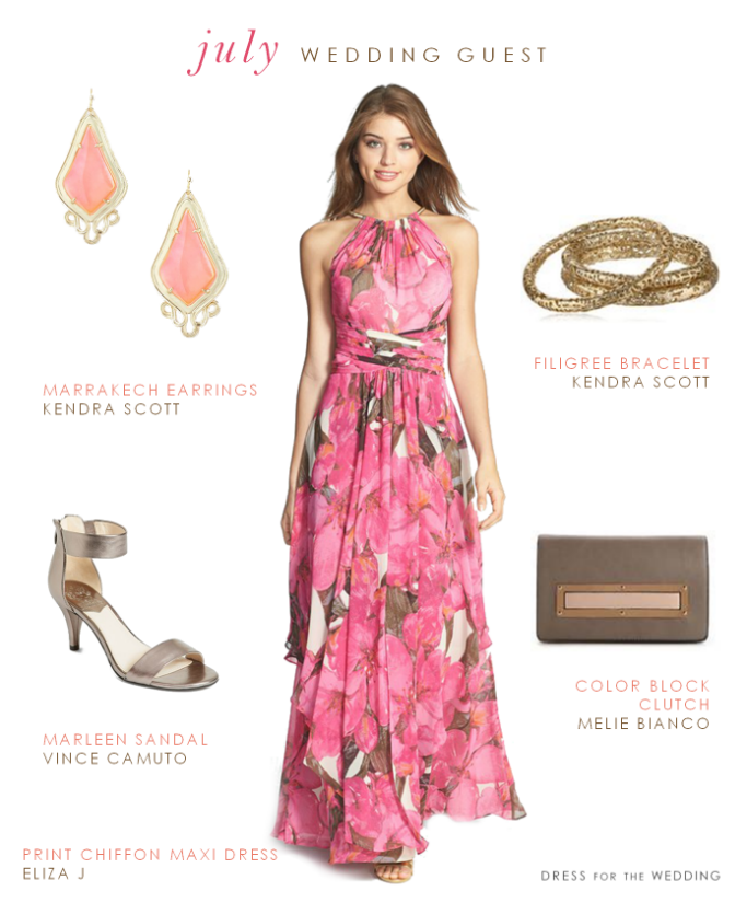Printed Maxi Dress | Wedding Guest Dresses | Pinterest | Dresses ...