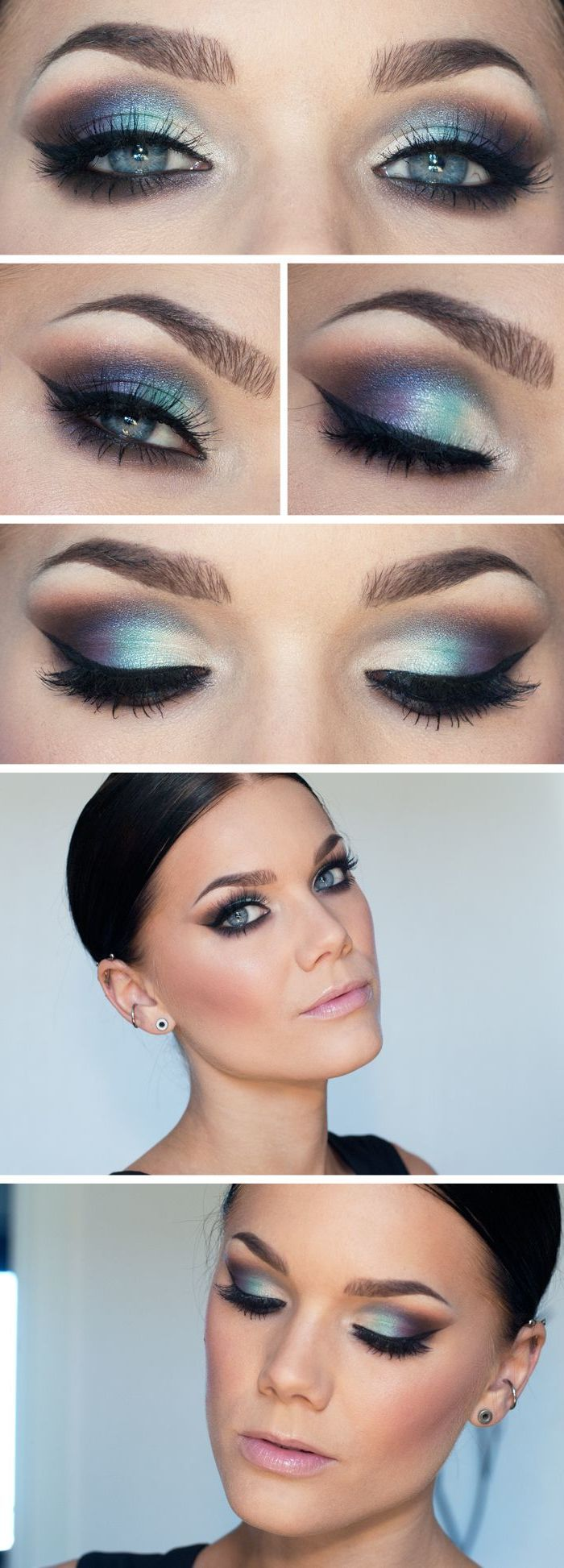 TOP Silvester Make-up: 10 Tipps für braune und blaue Augen! – Beauty – ZENIDEEN