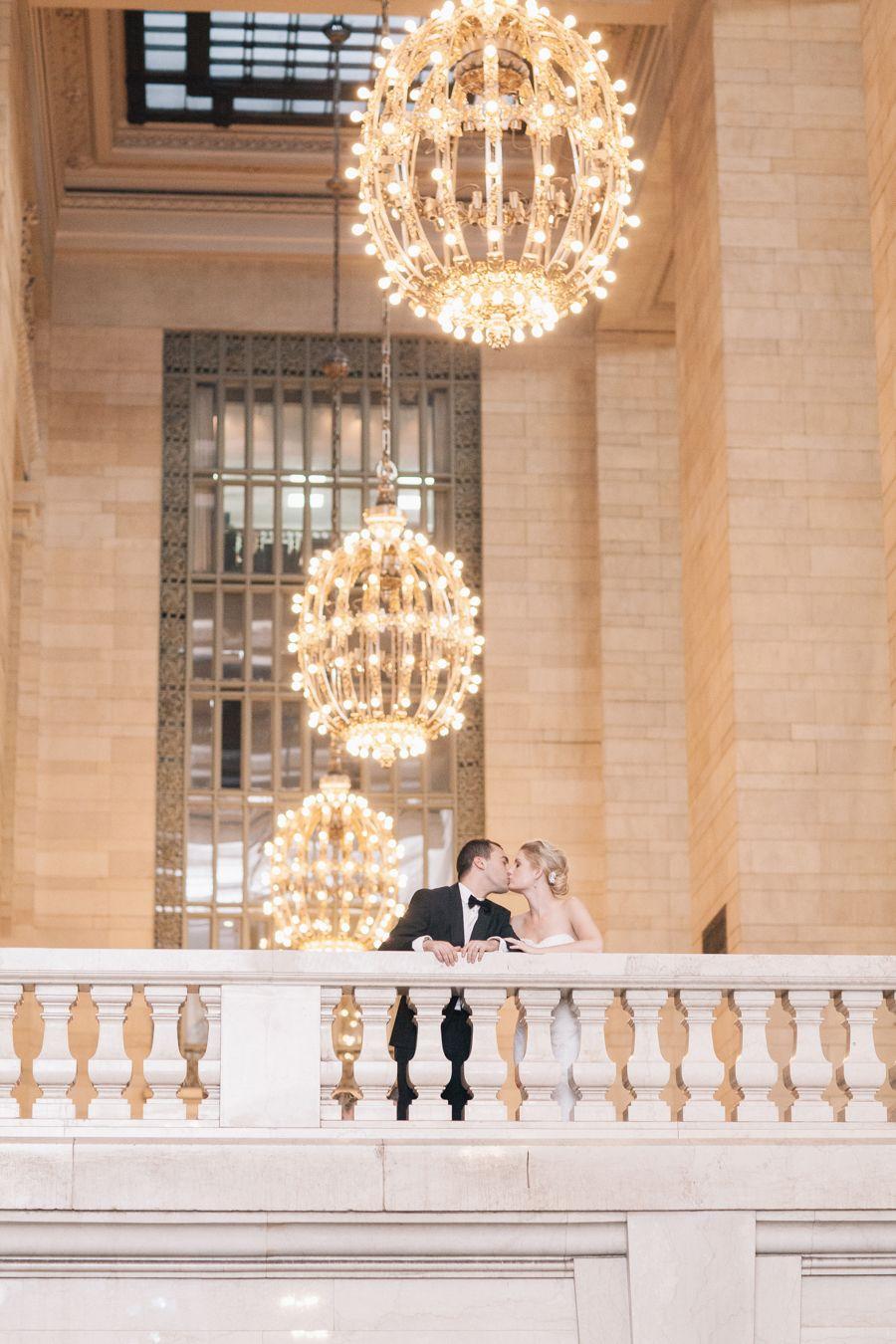 Elegant Manhattan Rooftop Garden Wedding   New york ...