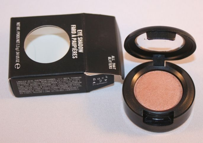 #mac #eyeshadow #allthatglitters