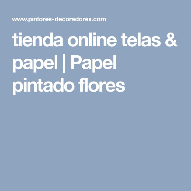 tienda online telas & papel | Papel pintado flores