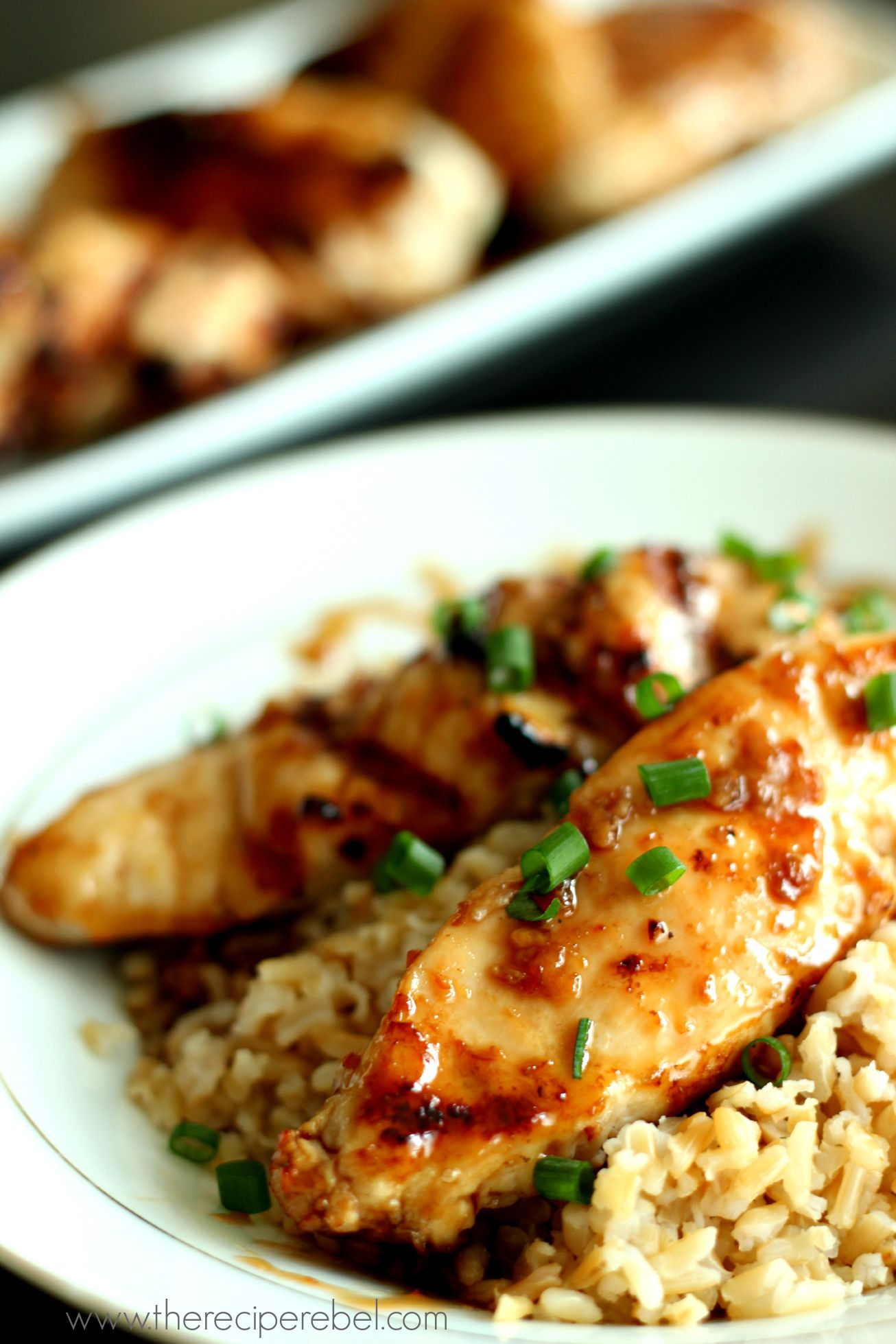 Sweet Amp Spicy Coconut Grilled Chicken
