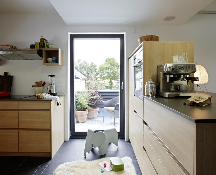 k che mit zugang zur terrasse sch ener pinterest terrasse k che und sch ner wohnen haus. Black Bedroom Furniture Sets. Home Design Ideas