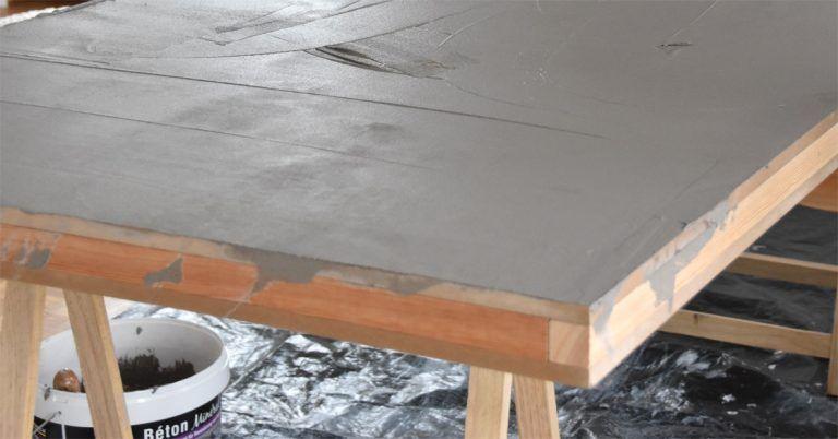 diy tischplatte in betonoptik diy diy tischplatte tisch betonoptik und betonoptik