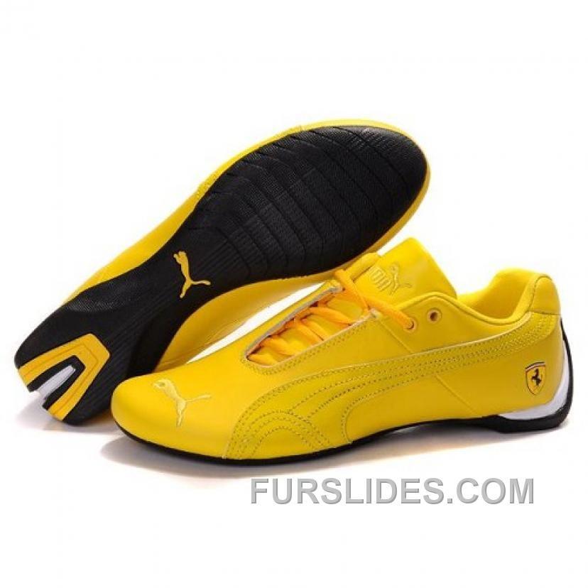 Puma SF Future Cat I In All Yellow For