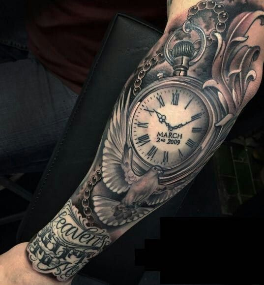 746694988 Justin Burnout Pocket Watch Tattoos, Pocket Watch Tattoo Design, Rip Tattoo,  Tattoo Ink