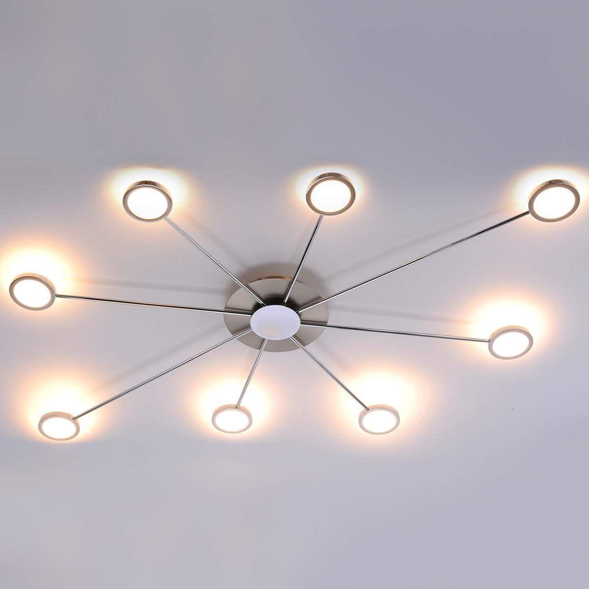 Goede Achtflammige LED-Deckenleuchte Adela von Paul Neuhaus (mit Bildern KN-99