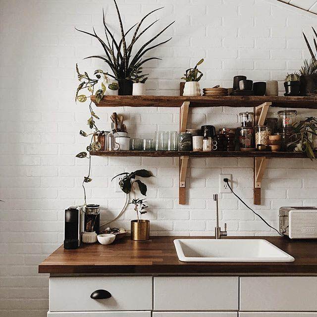 Le mensole a vista in cucina: belle ma anche funzionali? in 2018 ...