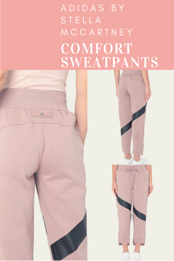 646df2ab33181d Pink Yoga Comfort Sweatpants –adidas by Stella McCartney. Your cosy yoga  bottoms to layer over tights on your way to the studio. Pink comes in 4  different ...