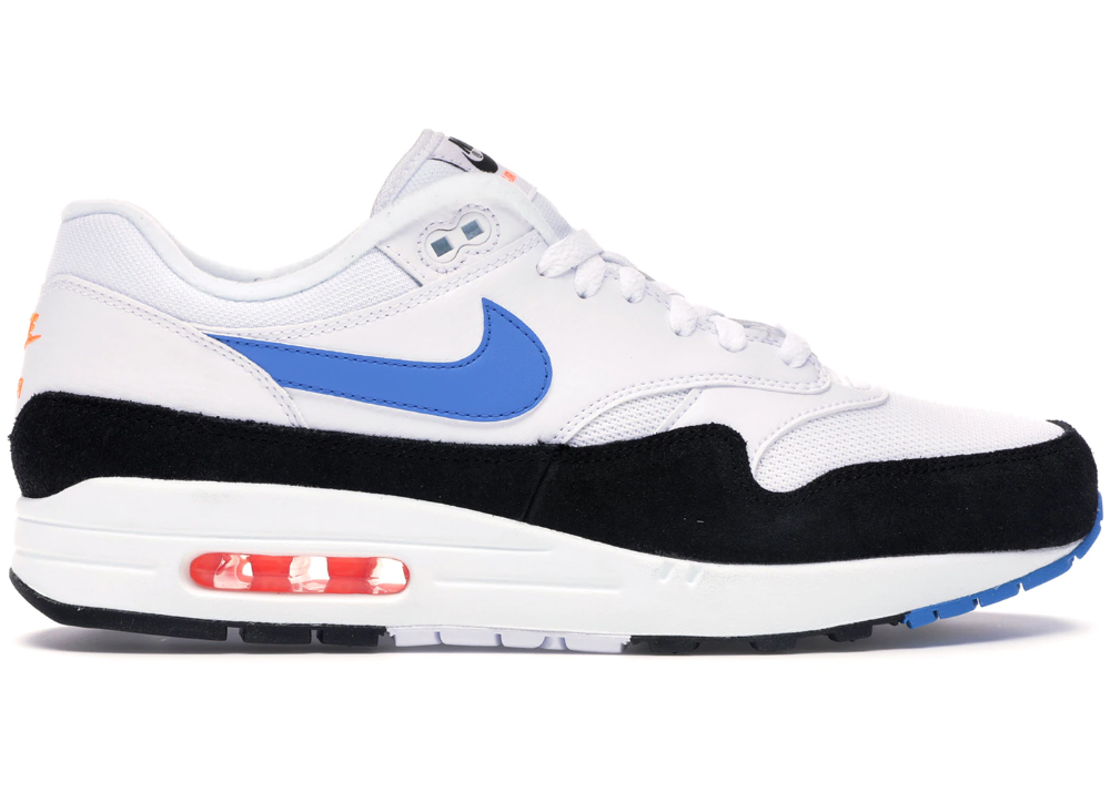 Nike Air Max 1 White Photo Blue Black (con imágenes)