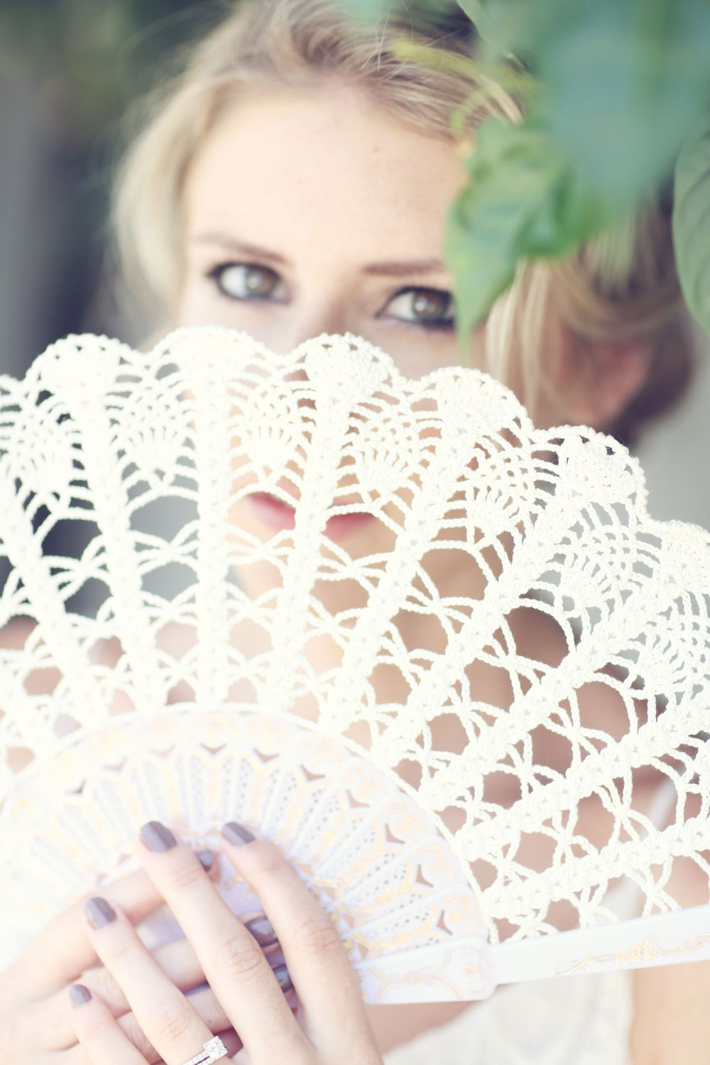 Today on the Bridal Boutique: Lace Wedding Fan by