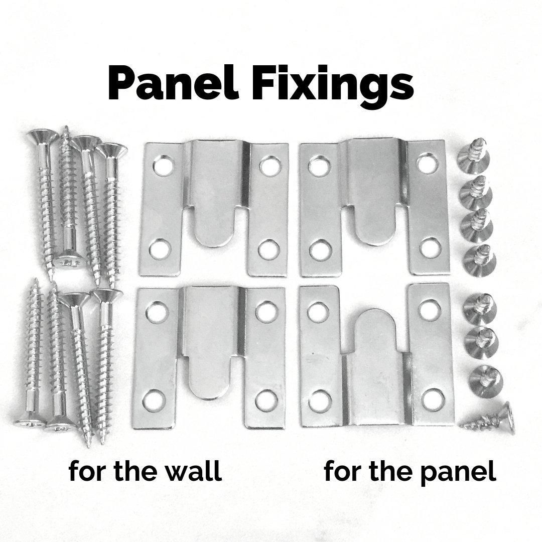 Concealed Wall Mount Fixing Brackets For Flash Hanging Of