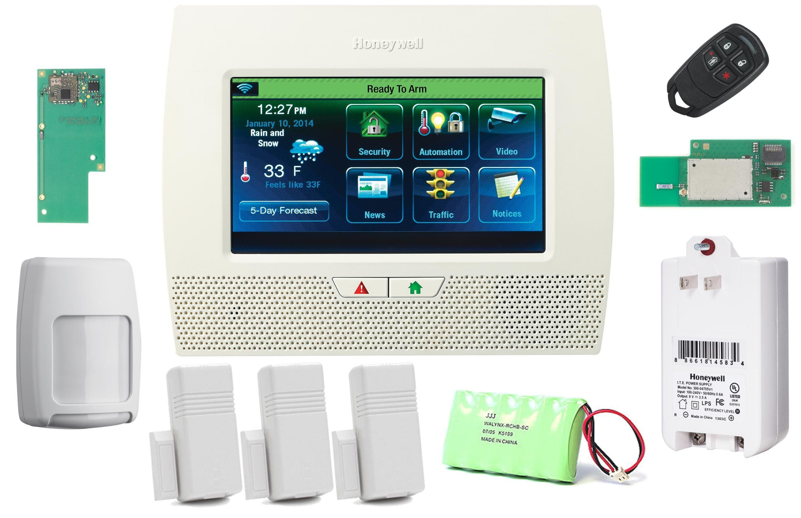 Do it yourself home alarm systems awesome diy home security systems elegant honeywell wireless lynx touch home alarm kit with wifi zwave and gsm module see this awesome image diy do it yourself today with do it yourself home solutioingenieria Gallery