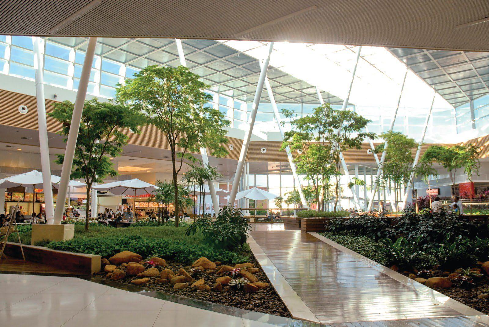 Praca De Alimentacao Catuai Shopping Center Arquitetura