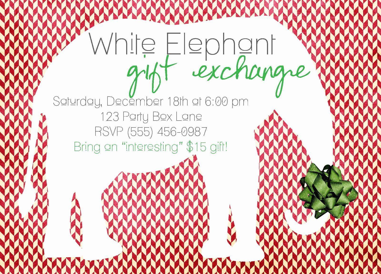 White Elephant Party Quotes   PeepsBurgh