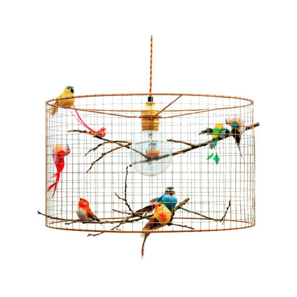 Copper birdcage chandelier pendant light 7975015 vnd liked on copper birdcage chandelier pendant light 7975015 vnd liked on polyvore featuring aloadofball Image collections