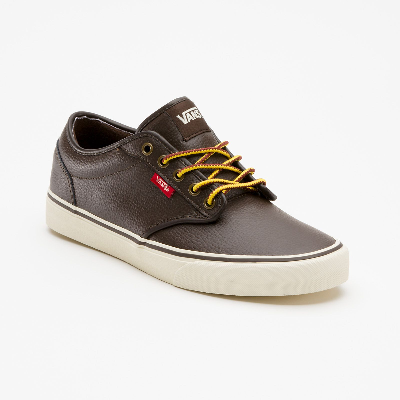 vans leather atwood sneakers