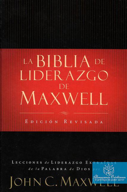 La Biblia De Liderazgo De Maxwell Books Garzon Joyce Meyer