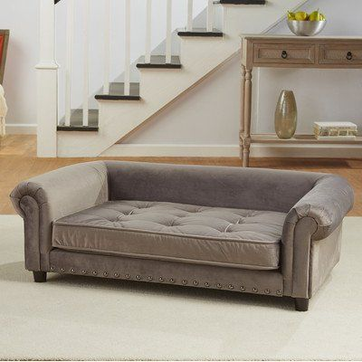 Enchanted Home Pet Manchester Grey Sofa Dog Bed More Info Could Be Found At The Image Url Note Amazon Affiliate Link Dog Sofa Bed Pet Sofa Dog Sofa