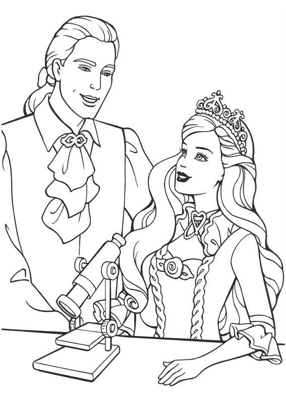 Barbie And The Princess Pauper Coloring PagesPrincess