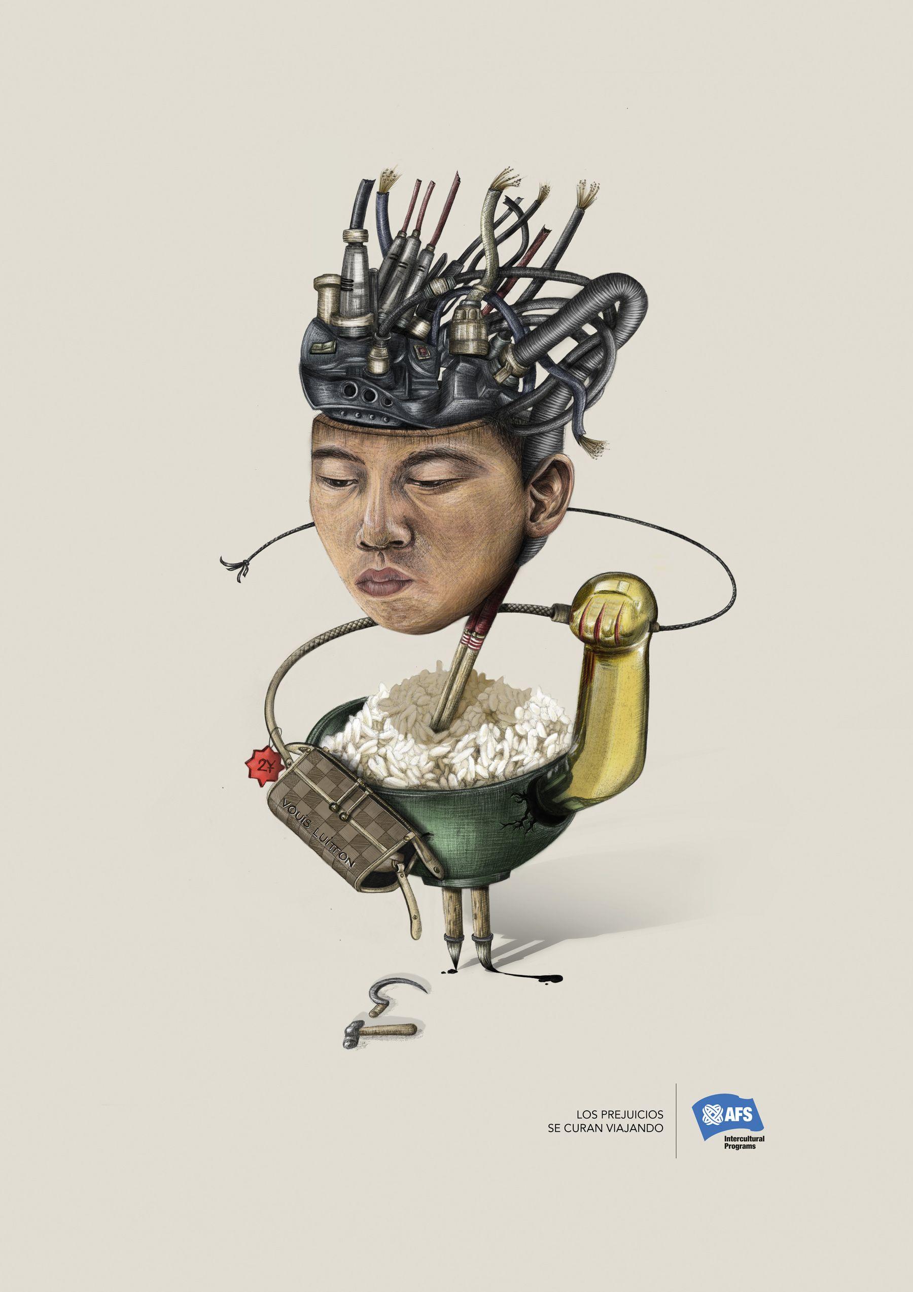 Chino, pieza de Ana Pareja, ganadora de 2 soles de bronce en FIAP :-)
