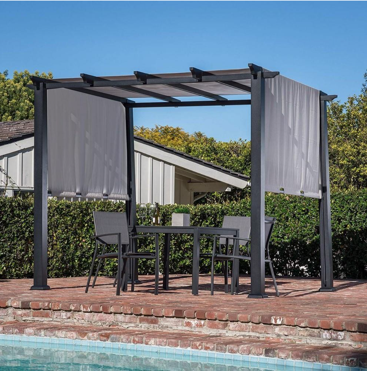 Incorporate Structure And Shade In Your Outdoor Area With An 8 X